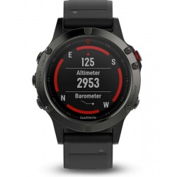 Men's Garmin Watch Fēnix 5 010-01688-00 GPS Multisport Smartwatch