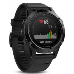 Men's Garmin Watch Fēnix 5 Sapphire 010-01688-11 GPS Multisport Smartwatch
