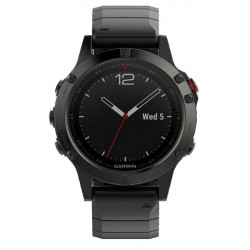 Buy Men's Garmin Watch Fēnix 5 Sapphire 010-01688-21 GPS Multisport Smartwatch