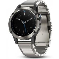 Men's Garmin Watch Quatix 5 Sapphire 010-01688-42 GPS Marine Multisport Smartwatch