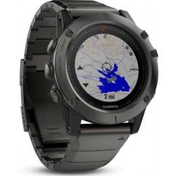 Men's Garmin Watch Fēnix 5X Sapphire 010-01733-03 GPS Multisport Smartwatch