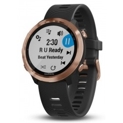 Men's Garmin Watch Forerunner 645 Music 010-01863-33 Running GPS Smartwatch