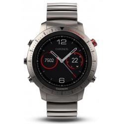 Men's Garmin Watch Fēnix Sapphire Chronos 010-01957-01 GPS Multisport Smartwatch