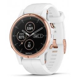 Unisex Garmin Watch Fēnix 5S Plus Sapphire 010-01987-07 GPS Multisport Smartwatch