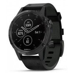 Buy Men's Garmin Watch Fēnix 5 Plus Sapphire 010-01988-07 GPS Multisport Smartwatch