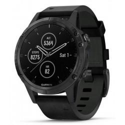 Men's Garmin Watch Fēnix 5 Plus Sapphire 010-01988-07 GPS Multisport Smartwatch