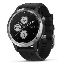 Buy Men's Garmin Watch Fēnix 5 Plus Glass 010-01988-11 GPS Multisport Smartwatch