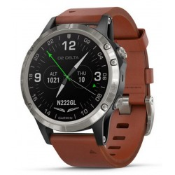 Buy Men's Garmin Watch D2 Delta Sapphire Aviator 010-01988-31 Aviation GPS Smartwatch