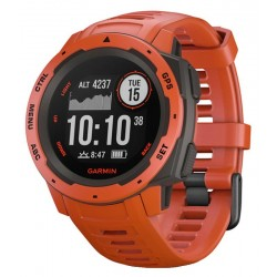 Men's Garmin Watch Instinct 010-02064-02 GPS Multisport Smartwatch