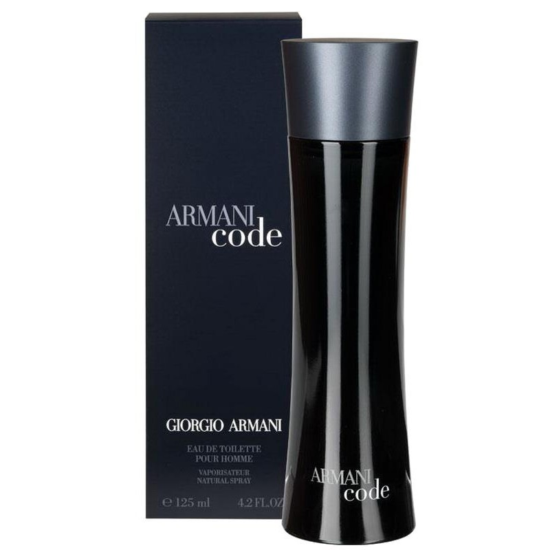 giorgio armani code perfume for eau de toilette edt vapo 125 ml