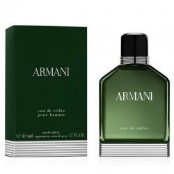 Giorgio Armani Eau de Cèdre Perfume for Men Eau de Toilette EDT Vapo 50 ml