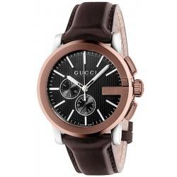 Men's Gucci Watch G-Chrono XL YA101202 Quartz Chronograph