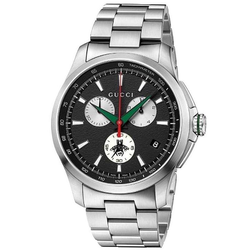 d90261edac6 Men s Gucci Watch G-Timeless XL YA126267 Quartz Chronograph ...