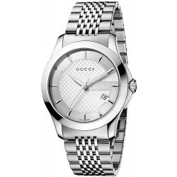 ef8d8c4ac7d Unisex Gucci Watch G-Timeless Medium YA126401 Quartz