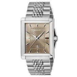 Buy Men's Gucci Watch G-Timeless Rectangular Medium YA138402 Quartz