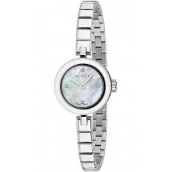 Buy Women's Gucci Watch Diamantissima Small YA141503 Diamonds Mother of Pearl