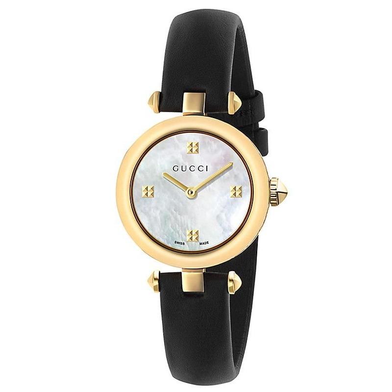9d5f3f64fe5 Women s Gucci Watch Diamantissima Small YA141505 Mother of Pearl ...