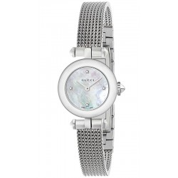 Women's Gucci Watch Diamantissima Small YA141512 Diamonds Mother of Pearl