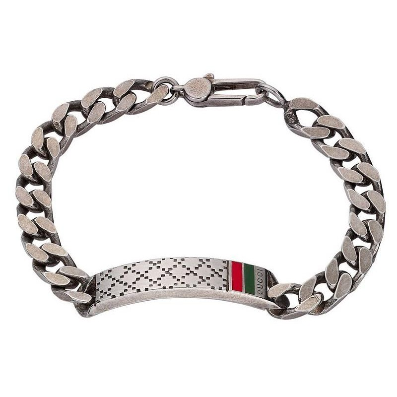 Men \u0027s Gucci Bracelet Diamantissima YBA295676001018