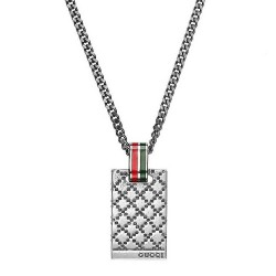 Buy Men's Gucci Necklace Diamantissima YBB31048100100U