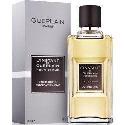 Guerlain L'Instant de Guerlain Pour Homme Perfume for Men Eau de Toilette EDT Vapo 100 ml