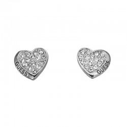 Buy Women's Guess Earrings UBE11410 Heart
