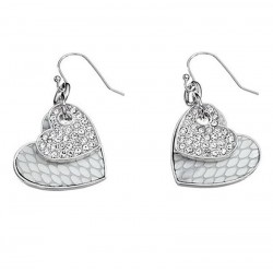 Buy Women's Guess Earrings UBE11422 Heart