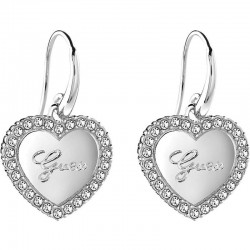Buy Women's Guess Earrings Iconic UBE21510 Heart