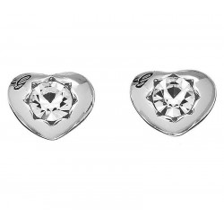 Buy Women's Guess Earrings Crystals Of Love UBE51415 Heart