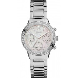 Buy Women's Guess Watch Mini Glam Hype W0546L1 Chrono Look Multifunction
