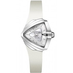 Women's Hamilton Watch Ventura S Quartz H24251391 Mother of Pearl