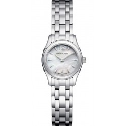 Buy Women's Hamilton Watch Jazzmaster Lady Quartz H32261197 Mother of Pearl