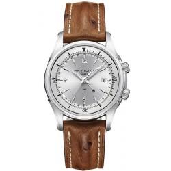 Men's Hamilton Watch Jazzmaster Traveler GMT Auto H32625555