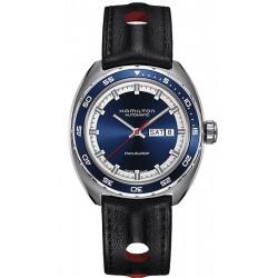 Men's Hamilton Watch Pan Europ Day Date Auto H35405741