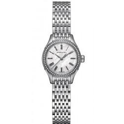 Buy Women's Hamilton Watch Valiant Quartz H39211194 Diamonds Mother of Pearl