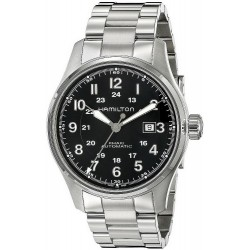 Men's Hamilton Watch Khaki Field Auto 44MM H70625133