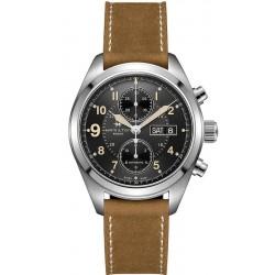Men's Hamilton Watch Khaki Field Auto Chrono H71616535
