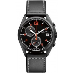 Men's Hamilton Watch Khaki Aviation Pilot Pioneer Chrono Quartz H76582733