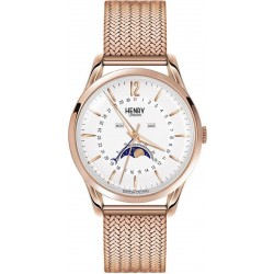 Buy Unisex Henry London Watch Richmond HL39-LM-0162 Moonphase Quartz