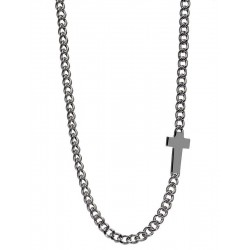 Buy Men's Jack & Co Necklace Cross-Over JUN0008