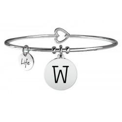 Women's Kidult Bracelet Symbols Letter W 231555W