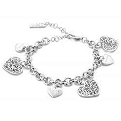 Women's Liu Jo Luxury Bracelet Trama LJ908 Heart