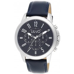 Men's Liu Jo Luxury Watch Jet TLJ825 Chronograph