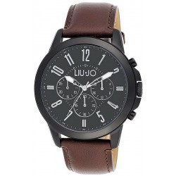 Men's Liu Jo Luxury Watch Jet TLJ826 Chronograph