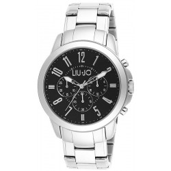 Men's Liu Jo Luxury Watch Jet TLJ828 Chronograph