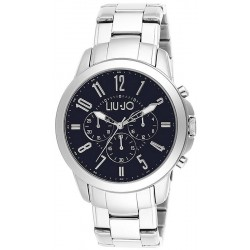 Men's Liu Jo Luxury Watch Jet TLJ829 Chronograph