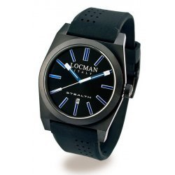 Men's Locman Watch Stealth Quartz 0201BKBKFBW1GOK