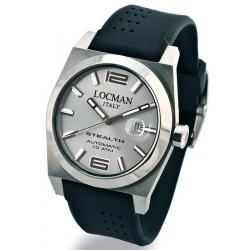 Men's Locman Watch Stealth Automatic 020500AGFNK0SIK