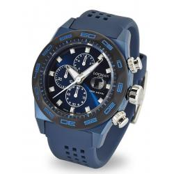 Men's Locman Watch Stealth 300MT Quartz Chronograph 0217V4-BKBLNKS2B
