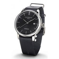Buy Men's Locman Watch 1960 Automatic 0255A01A-00BKNKNK